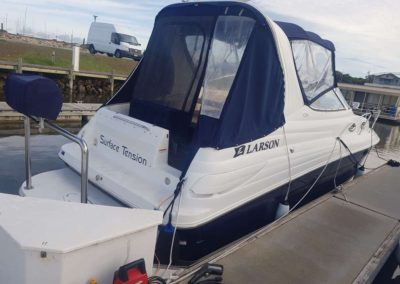 Exterior Wash on this boat in Victor Harbour.