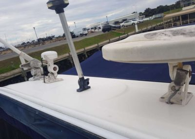 Exterior detail & polish done on this boat in Victor Harbour.